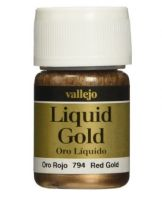 VALLEJO METALIZER LIQUID GOLD - 794 RED GOLD